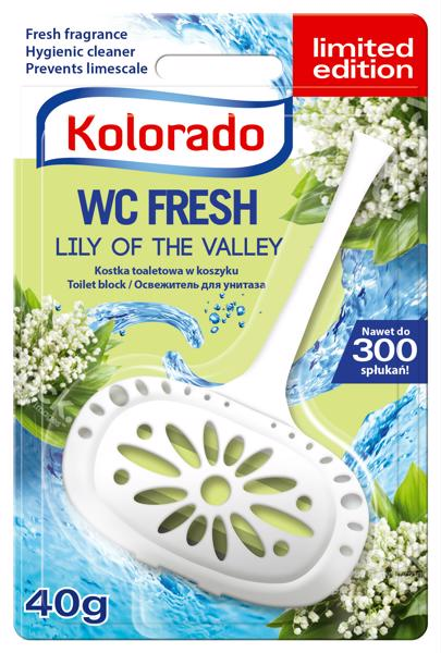 Kolorado fresh kosaras toalett block 40g lilly of the valley (24 db)